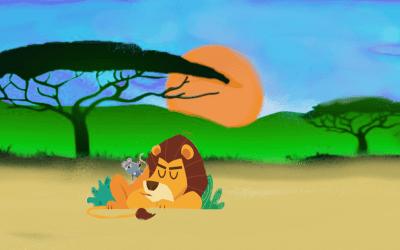 El Ratón y el León