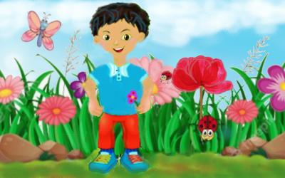 El Niño y la Rosa